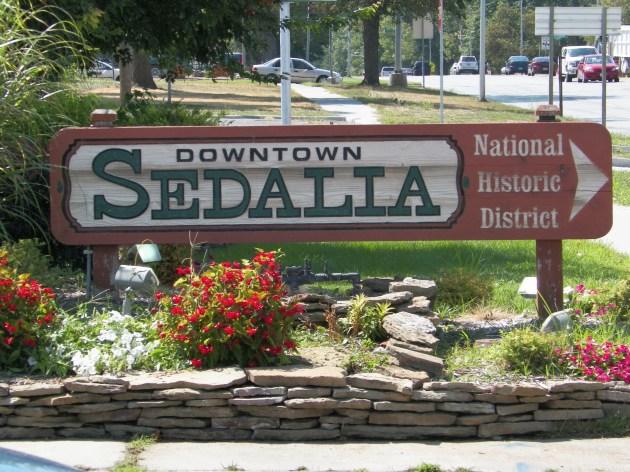 visiting Sedalia, MO