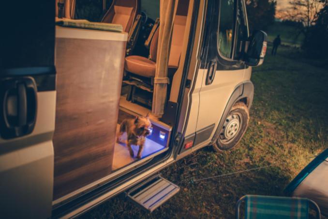 keeping camper van clean
